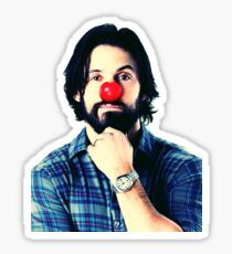 Red Nose Milo Ventimiglia Sticker