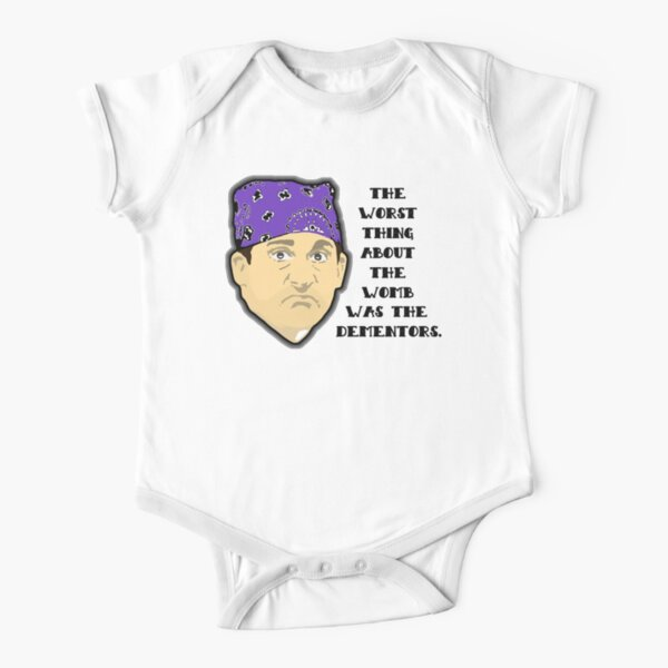Custom for B -  Prison Mike2 Short Sleeve Baby One-Piece