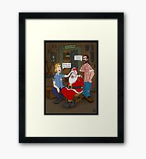 Bring out the Gimp. Framed Print