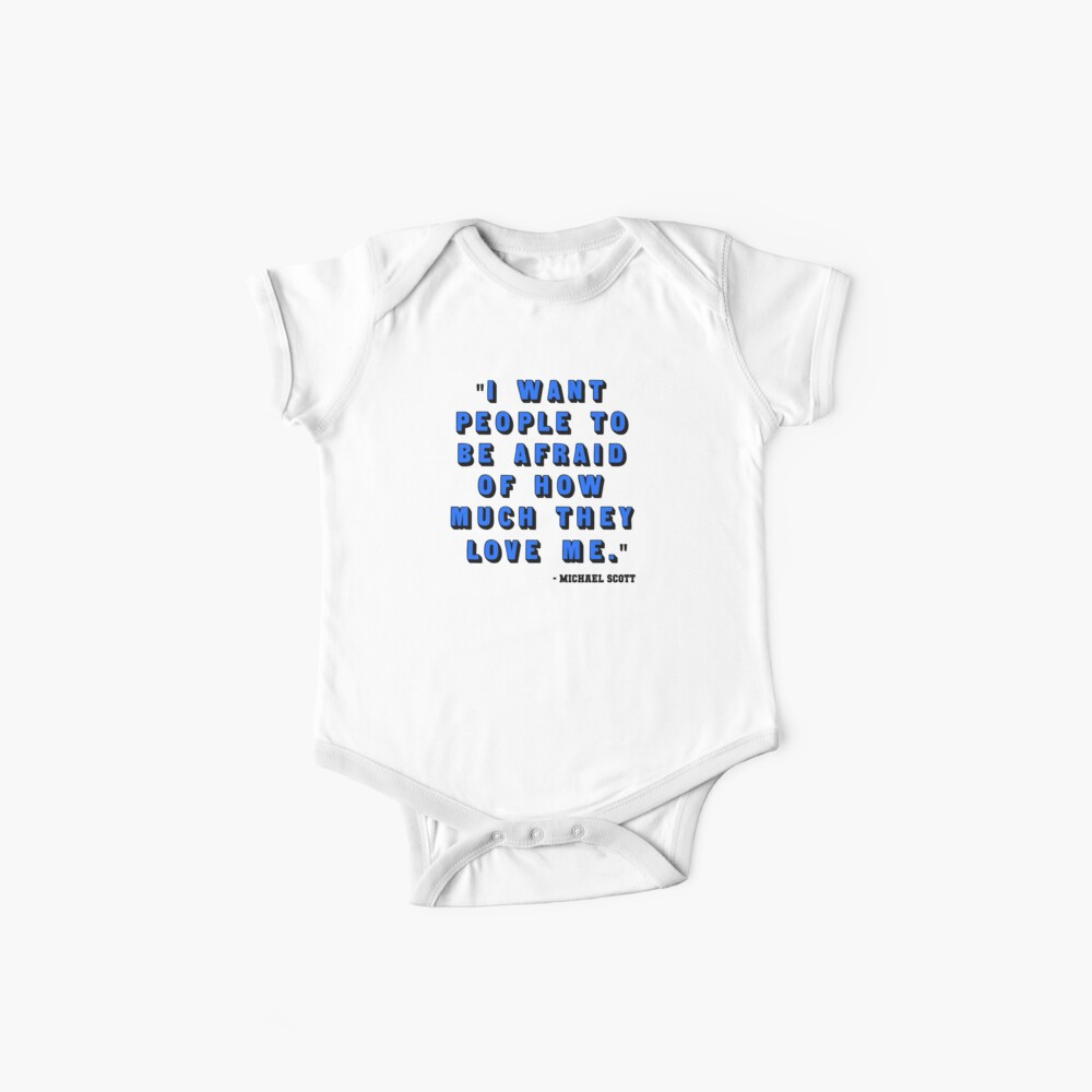Custom for B -  Michael Scott Quote1 Baby One-Piece