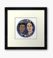 Troy and Abed in the Morning *At Night* Framed Print
