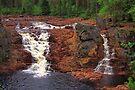 Waterfall Brattfallet by Jo Nijenhuis
