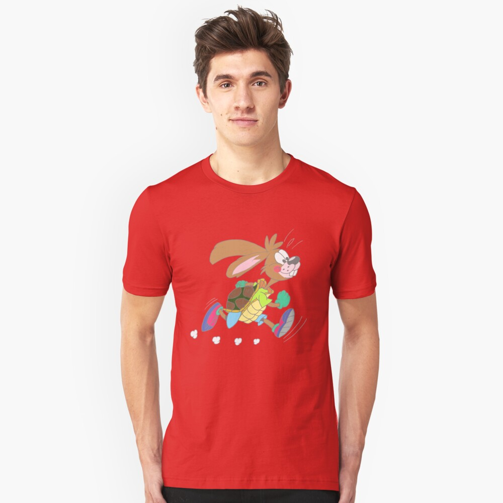 Hare or tortoise Slim Fit T-Shirt