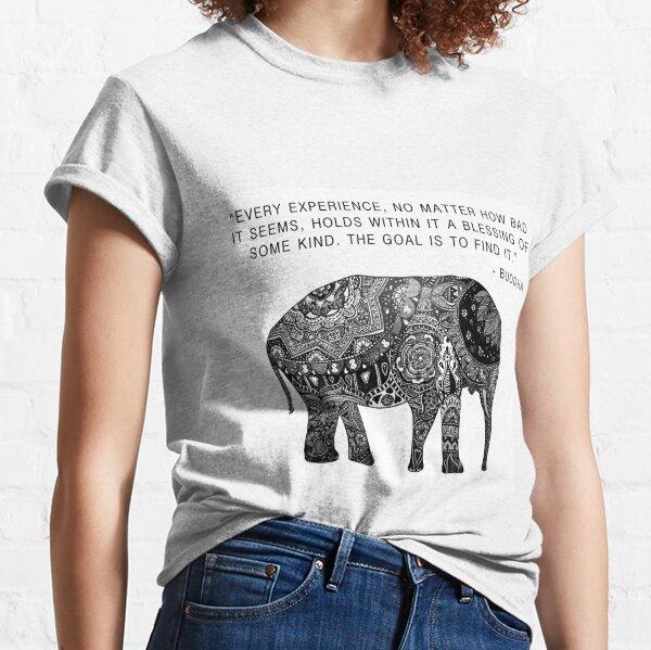 Buddha Wisdom Elephant Classic T-Shirt