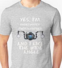 I'm  underwater  photographer. T-Shirt