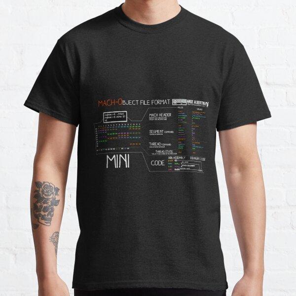 a mini Mach-O (white text) Classic T-Shirt