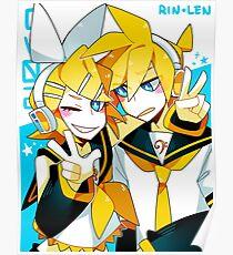 CV02 RIN & LEN Poster