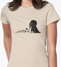 Camiseta entallada Evolución Lovecraftian