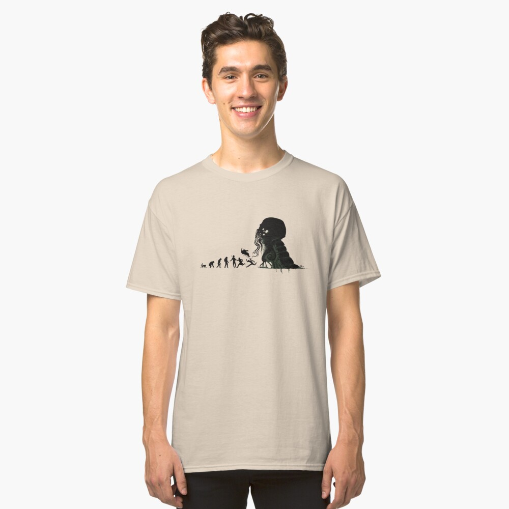 Lovecrafts Evolution Classic T-Shirt
