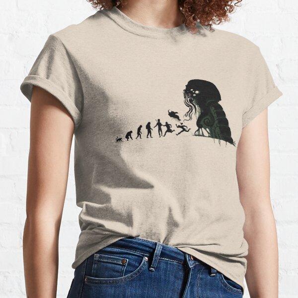 Evolución Lovecraftian Camiseta clásica