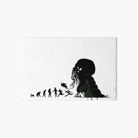Lovecraftian Evolution Art Board Print