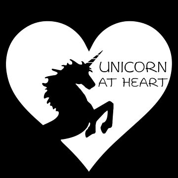 Unicorn At Heart by atheartdesigns