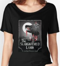 American Werewolf In London - The Slaughtered Lamb Bloody Women's Relaxed Fit T-Shirt