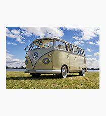 Volkswagen Kombi Samba Bus Photographic Print
