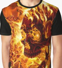Ghost rider fire Graphic T-Shirt