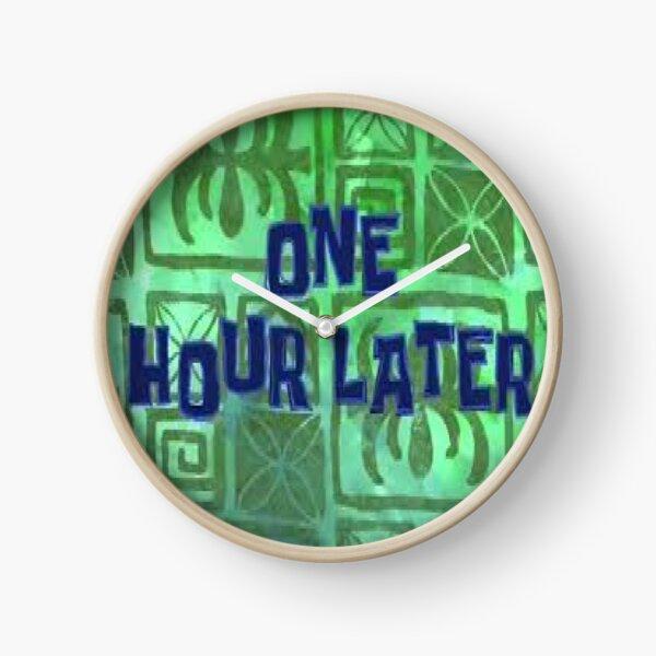 Spongebob Clock Clock