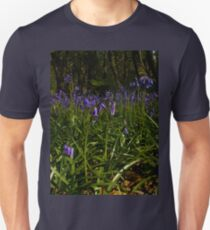 Bluebells in Prehen Woods Unisex T-Shirt