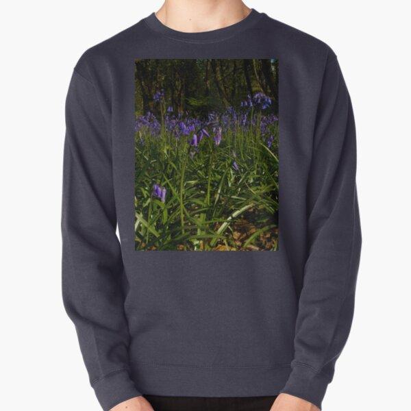 Bluebells in Prehen Woods Pullover Sweatshirt