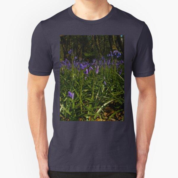 Bluebells in Prehen Woods Slim Fit T-Shirt