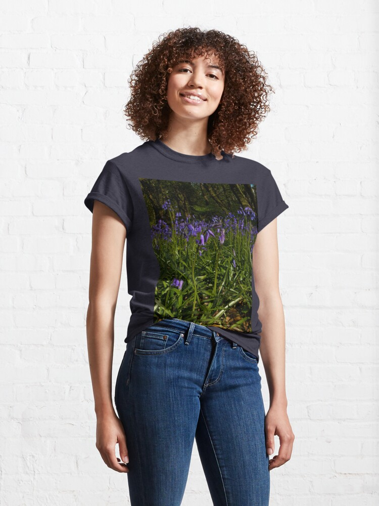 Alternate view of Bluebells in Prehen Woods Classic T-Shirt