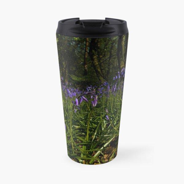 Bluebells in Prehen Woods Travel Mug