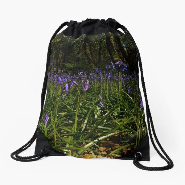 Bluebells in Prehen Woods Drawstring Bag