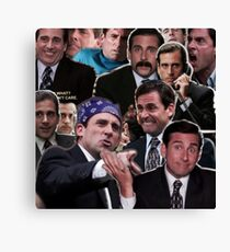 The Office Michael Scott - Steve Carell Canvas Print