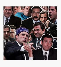 The Office Michael Scott - Steve Carell Photographic Print
