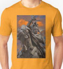 Italy. Turin. Equestrian monument to Emanuele Filiberto.  Unisex T-Shirt