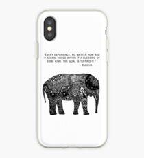 Buddha Wisdom Elephant iPhone Case