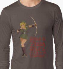 What if Zelda was a girl? (it's a joke) T-Shirt