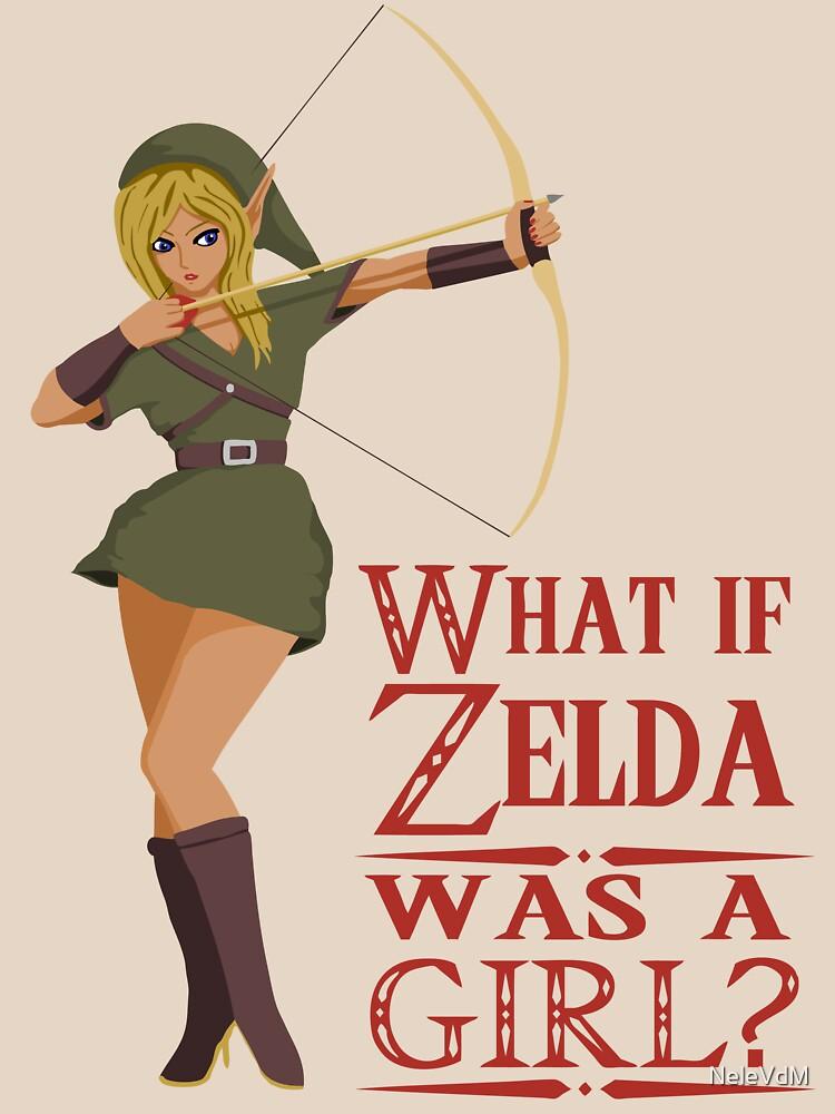 TShirtGifter presents: What if Zelda was a girl? (it's a joke) | Unisex T-Shirt