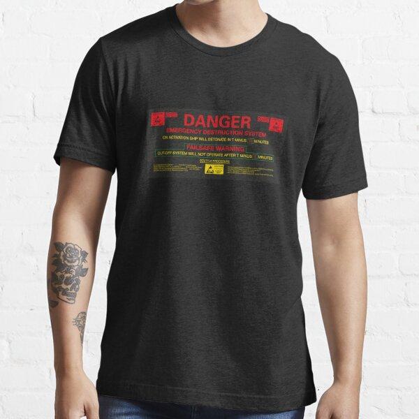 SYSTÈME DE DESTRUCTION D'URGENCE T-shirt essentiel