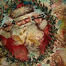 SANTA IS BUSY AT THE NORTH POLE by Tammera