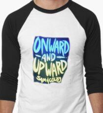 Onward and Upward Sam and Colby Men's Baseball ¾ T-Shirt