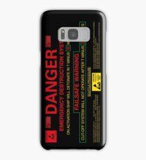 EMERGENCY DESTRUCTION SYSTEM - iPhone Samsung Galaxy Case/Skin