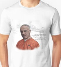 Liverpool Manager Bill Shankly & Quote T-Shirt
