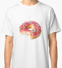 Pink Sprinkled Donut Classic T-Shirt