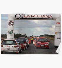 Oz Gymkhana Start/Finish Poster
