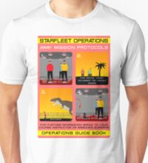 Star Trek - Operations Red Shirt Instructions Unisex T-Shirt