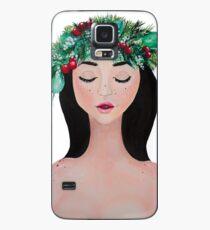 Laurel - christmas wreath crown Case/Skin for Samsung Galaxy