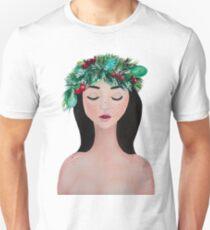 Laurel - christmas wreath crown Unisex T-Shirt