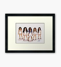 Fifth Harmony - Boss Framed Print