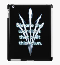 Warriors blue team iPad Case/Skin
