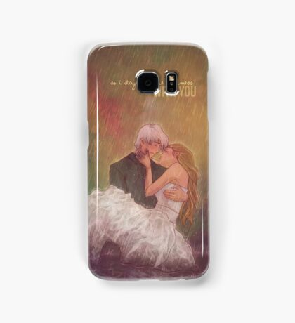 So I stayed in the darkness with you Samsung Galaxy Case/Skin