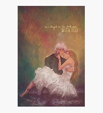 So I stayed in the darkness with you Photographic Print