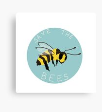Save the Bees! Canvas Print