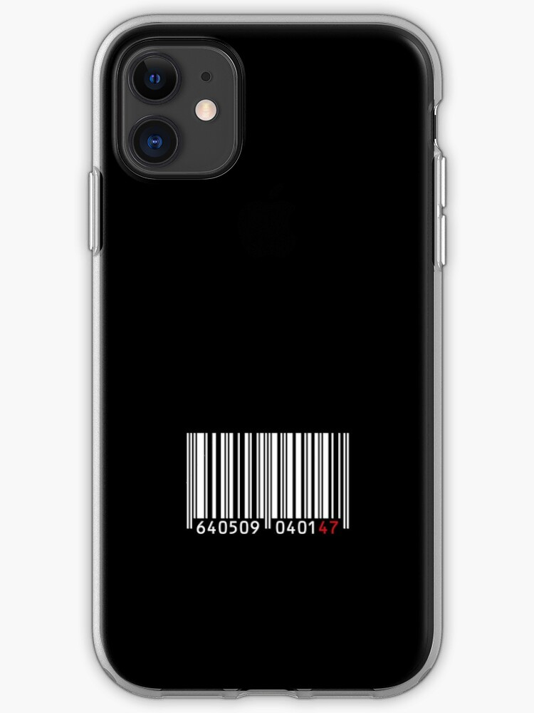 Barcode 47 Iphone Case Cover By Bluedog725 Redbubble