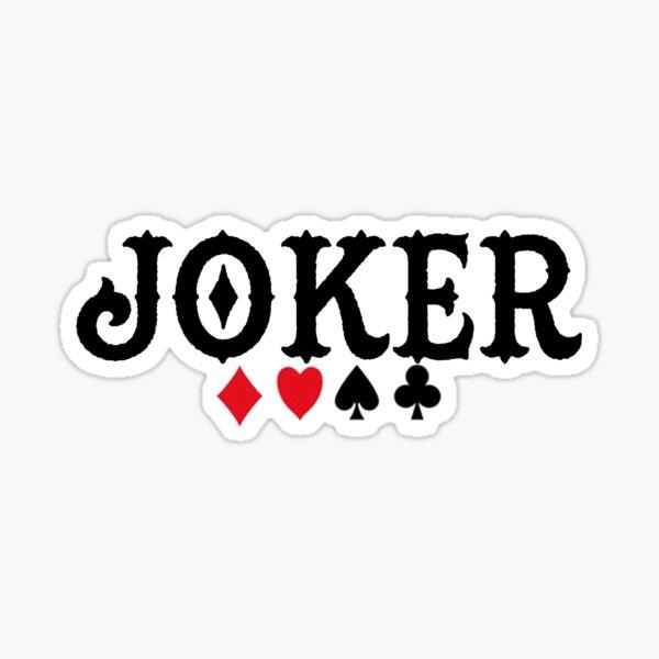 Joker Sticker