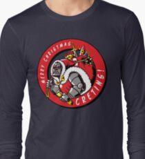 Merry Christmas, cretins! Long Sleeve T-Shirt